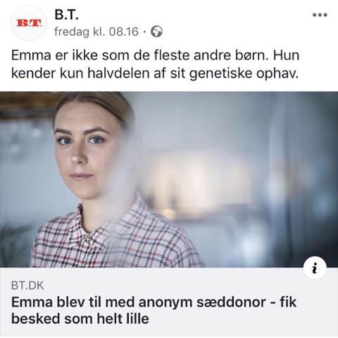 Emma Grønbæk - Interview med BT